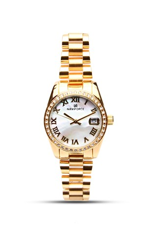 Naviforce nv1012 zlato lady's watch